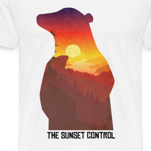 the sunset control_extreme quality edition - T-shirt Premium Homme