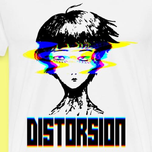 Distorsion - T-shirt Premium Homme