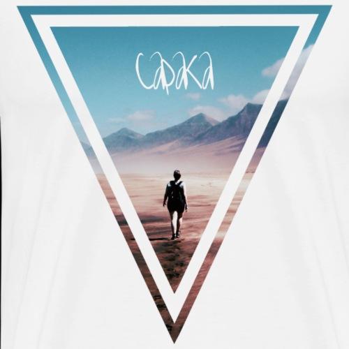 Capaka Horizons - Männer Premium T-Shirt