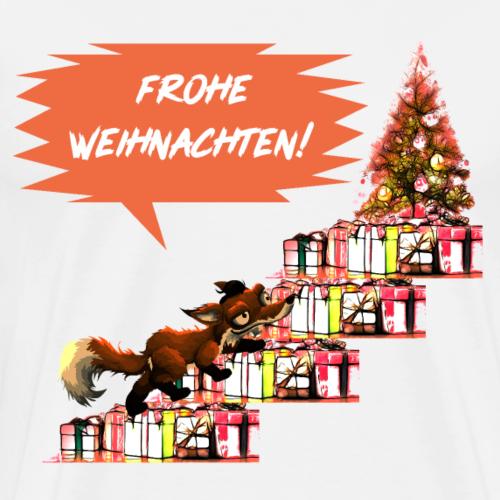 Frohe Weihnachten - Comicdesign - Männer Premium T-Shirt