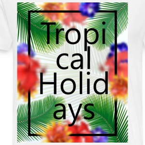 Tropical Holidays - Men's Premium T-Shirt