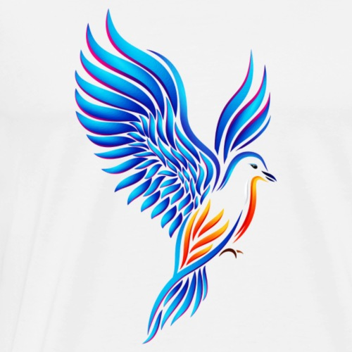 Bird of Eden - Men's Premium T-Shirt