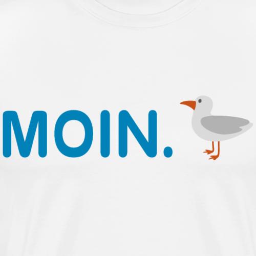 Moin Hamburch! - Männer Premium T-Shirt