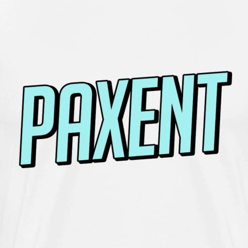 PAXENT LOGO (TÜRKIS) - Männer Premium T-Shirt