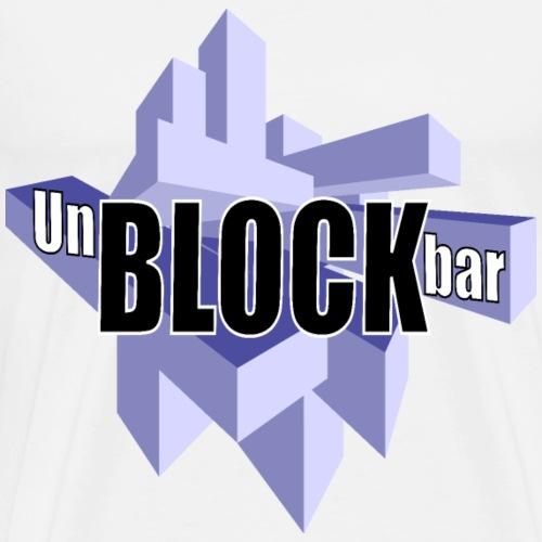 Unblockbar - Männer Premium T-Shirt
