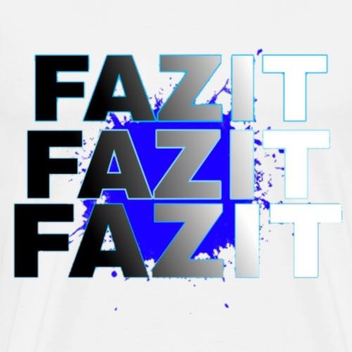 FAZIT FAZIT FAZIT - Männer Premium T-Shirt
