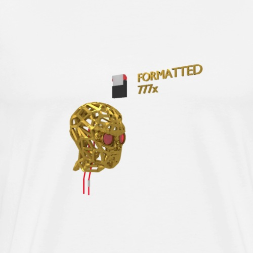 FORMATTED 777x - Men's Premium T-Shirt