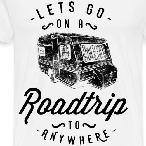 LETS GO- Wohnwagen Wohnmobil Camper Geschenk Motiv - Männer Premium T-Shirt