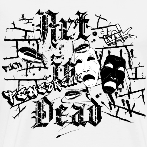 Ténébreuse Ink - Art Is Dead Graffiti - T-shirt Premium Homme