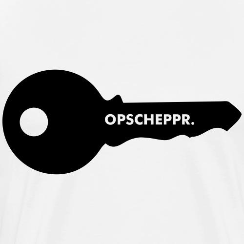 OPSCHEPPR 2.0 - Mannen Premium T-shirt
