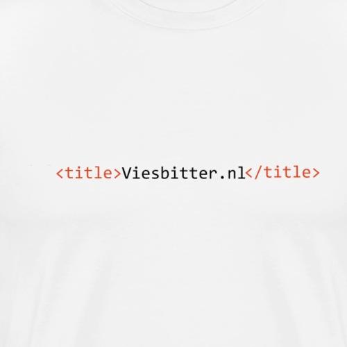 Viesbitter programming wear - Mannen Premium T-shirt