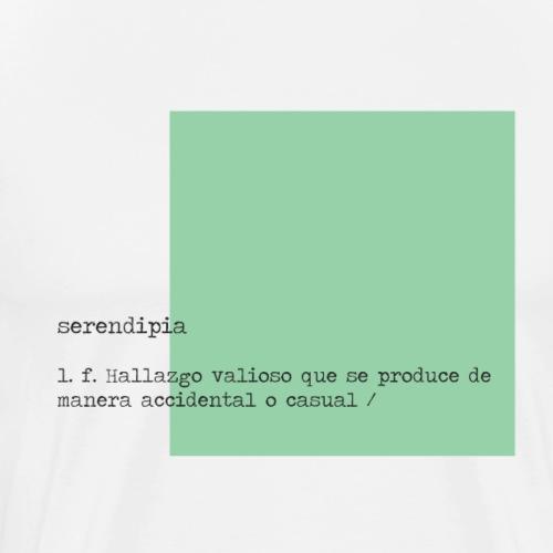 Serendipia - Camiseta premium hombre