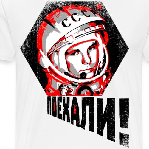 Gagarin - LET'S GO! - Männer Premium T-Shirt