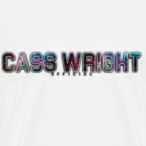 cass wright galaxy design - Men's Premium T-Shirt