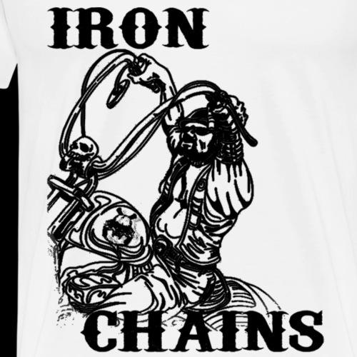 Iron Rider Black - Männer Premium T-Shirt