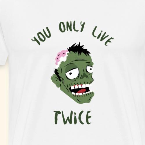 Monster Shirt T-Shirt Halloween Tees - Männer Premium T-Shirt