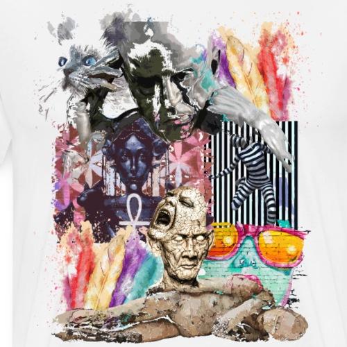 Pop-Art - Männer Premium T-Shirt