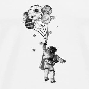 Astronaut and Balloon´s - Männer Premium T-Shirt