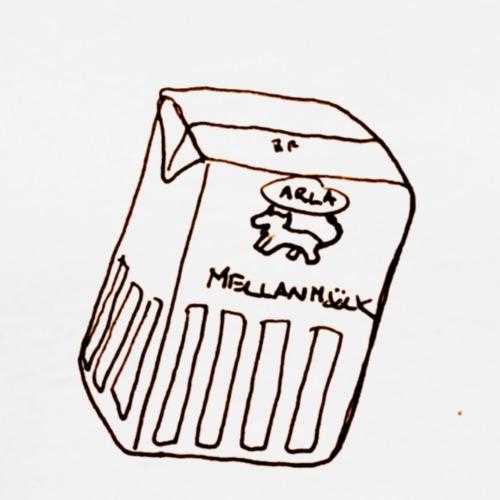Mellanmjölk - Premium-T-shirt herr