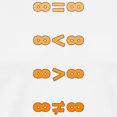 Unendlichkeit - Männer Premium T-Shirt
