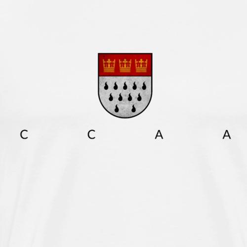 Wappen ccaa - Männer Premium T-Shirt