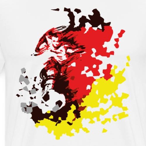 Deutschland Fußball - Weltmeister WM Fan Shirt - Männer Premium T-Shirt