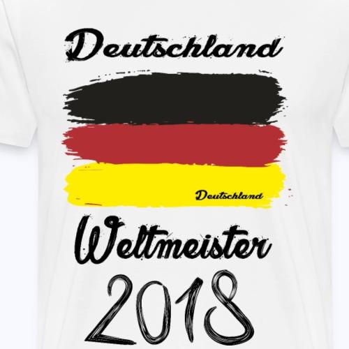 Deutschland Weltmeisterschaft 2018 fan Tshirt - Männer Premium T-Shirt