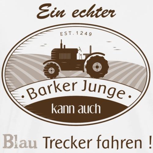 Barker Junge - Männer Premium T-Shirt