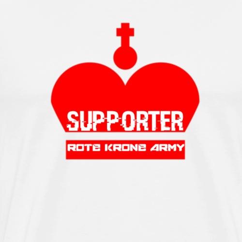 ROTEKRONE ARMY - Männer Premium T-Shirt