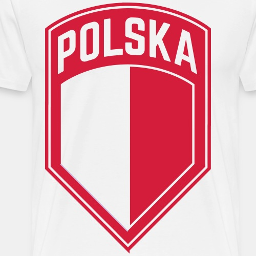 POLSKA-POLAND - Männer Premium T-Shirt