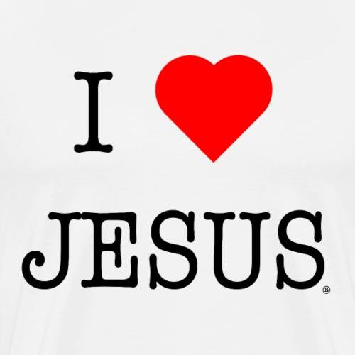 I LOVE JESUS - Boutique officielle. - T-shirt Premium Homme