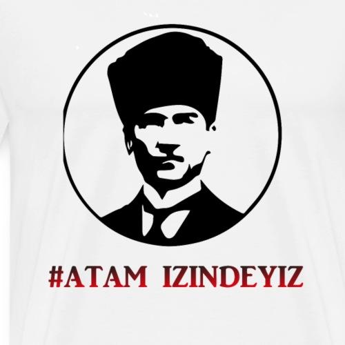 Atatürk, Mustafa Kemal Atatürk Tshirt Türkiye - Männer Premium T-Shirt