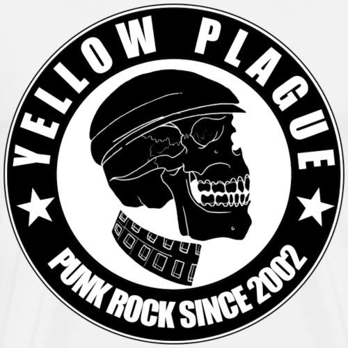 Yellow Plague - Miesten premium t-paita