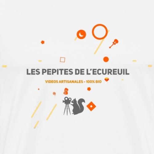 Les pépites de l'écureuil - Tons clairs - T-shirt Premium Homme