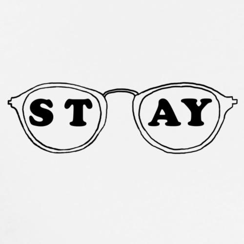 STAY glasses - Männer Premium T-Shirt