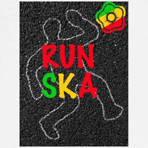 Run Ska - Premium-T-shirt herr