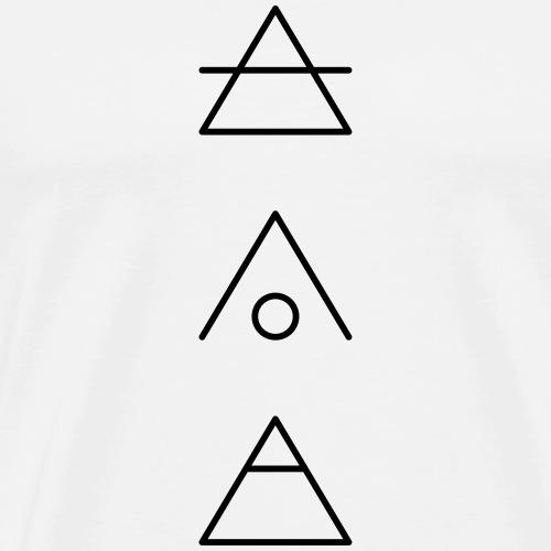 TRANSCEND - SHELTER - EXPLORE - Männer Premium T-Shirt