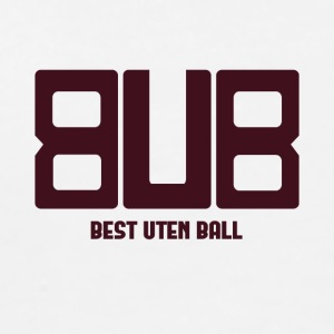 BEST UDEN BALL BURGUNDY - Herre premium T-shirt