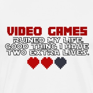 Video Games - Two Extralives - Men's Premium T-Shirt