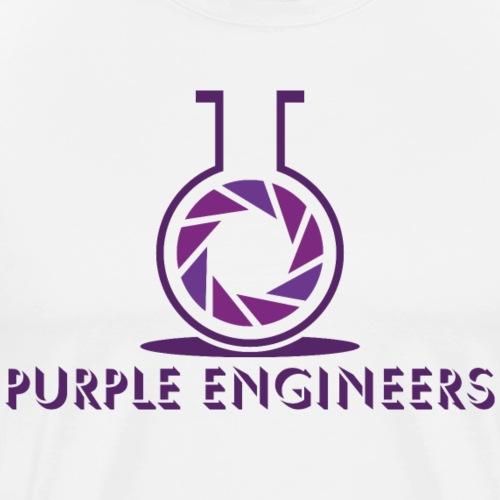 Purple Engineers Logo - Men's Premium T-Shirt