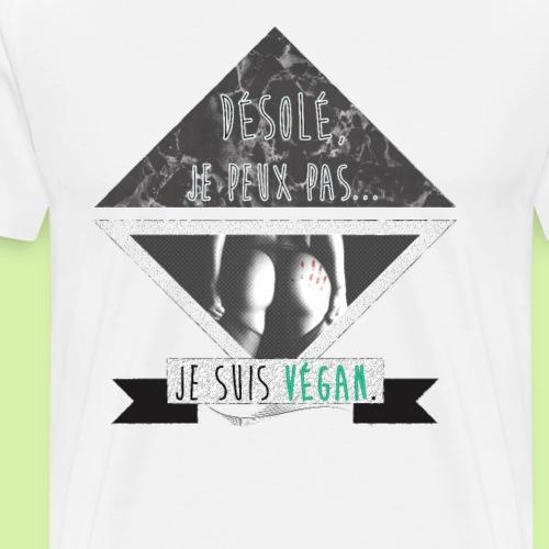 VEGAN PROBLEM - T-shirt Premium Homme