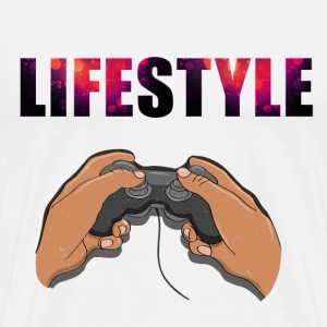 gaming Lifestyle - Mannen Premium T-shirt