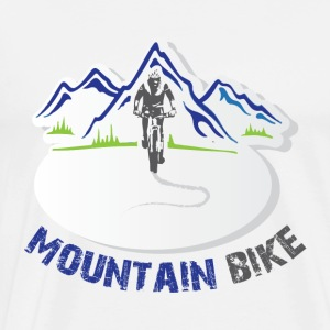 Mountain Bike - Mannen Premium T-shirt