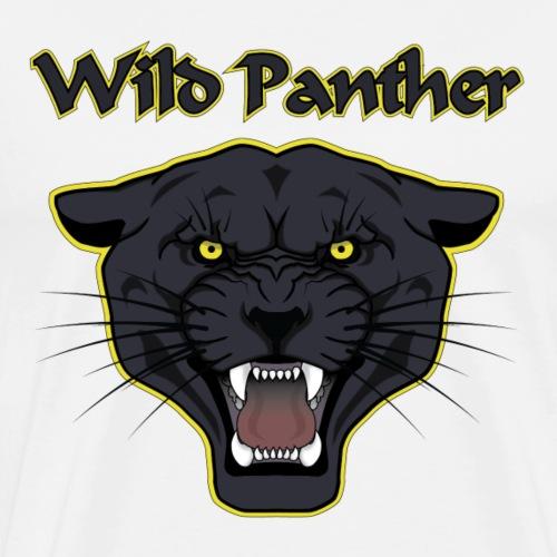 Wild Panther - T-shirt Premium Homme