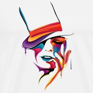 MASK ART - Herre premium T-shirt