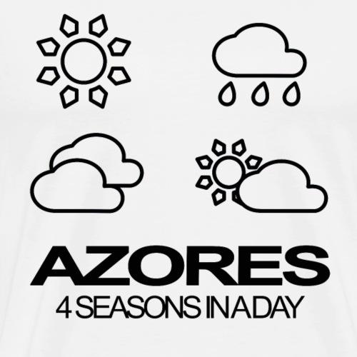 Azores 4 Seasons in a day - Männer Premium T-Shirt