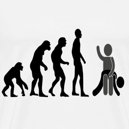 evolution fessée bdsm soumission domination sexe - T-shirt Premium Homme