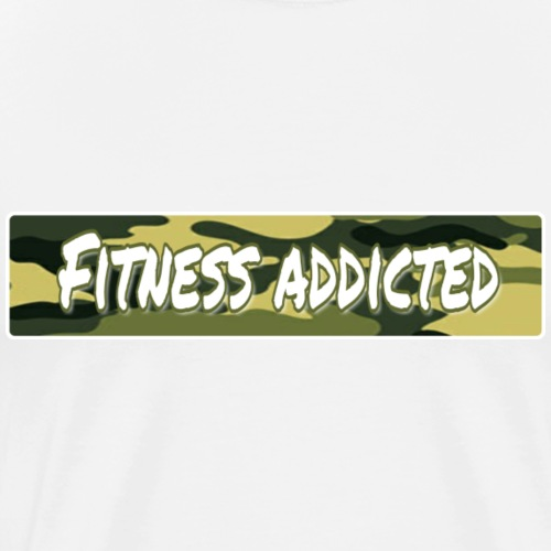 Fitness addicted - Männer Premium T-Shirt