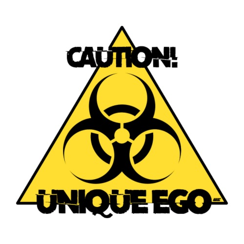 Caution! Unique Ego - The Biohazard Edition - Männer Premium T-Shirt
