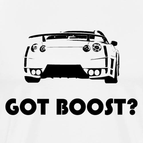 GOT BOOST? GTR in schwarz - Männer Premium T-Shirt